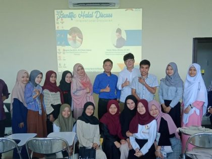 "International Discussion : ""Halal Lifestyle in ASEAN"" collaboration with Internation Student of Seoul National University of Science and Technology"