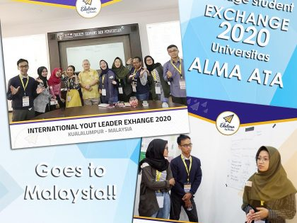 Mahasiswa Ekonomi Syariah Universitas Alma Ata Go to International